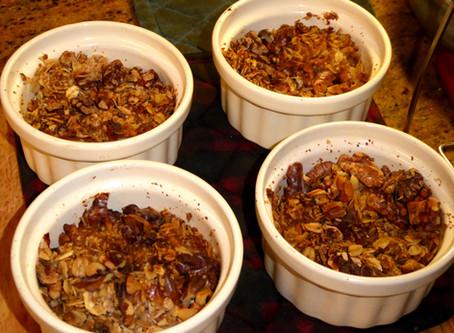 Banana Breakfast--or Dessert--Crumbles