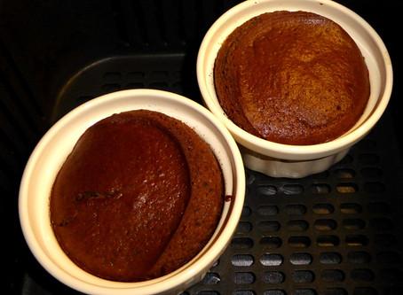 Air Fryer Mini Fudge, Not Lava Cakes