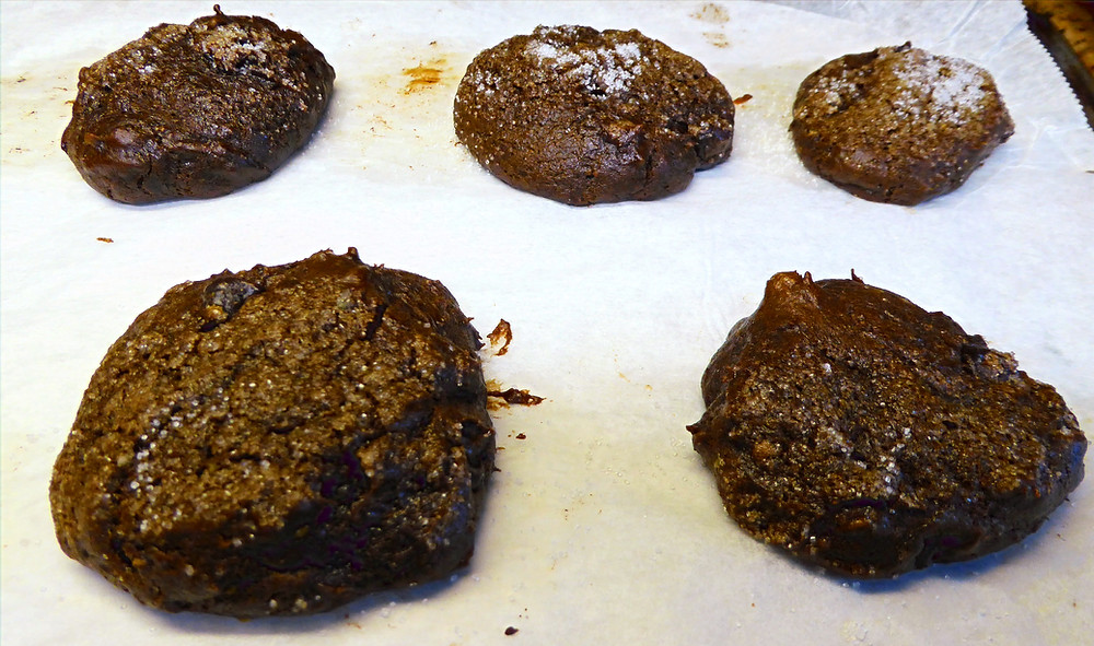 Air Fryer or Oven Chocolate Avocado Cookies No Butter