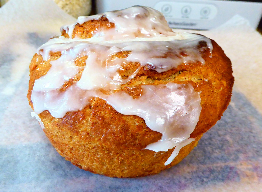 Use Your Discard in Refrigerator Sourdough Cinnamon Buns, Make Them in Your Air Fryer
