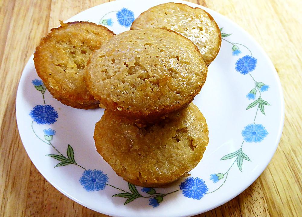 Sourdough Lemon Muffin Puffs