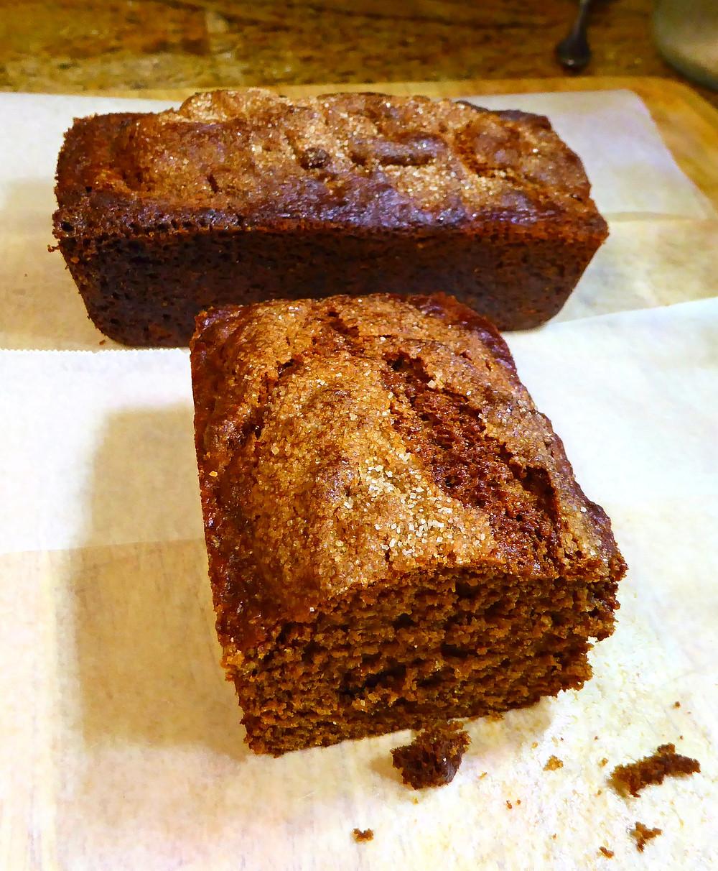 Air Fryer Molasses Brown Bread With Raisins