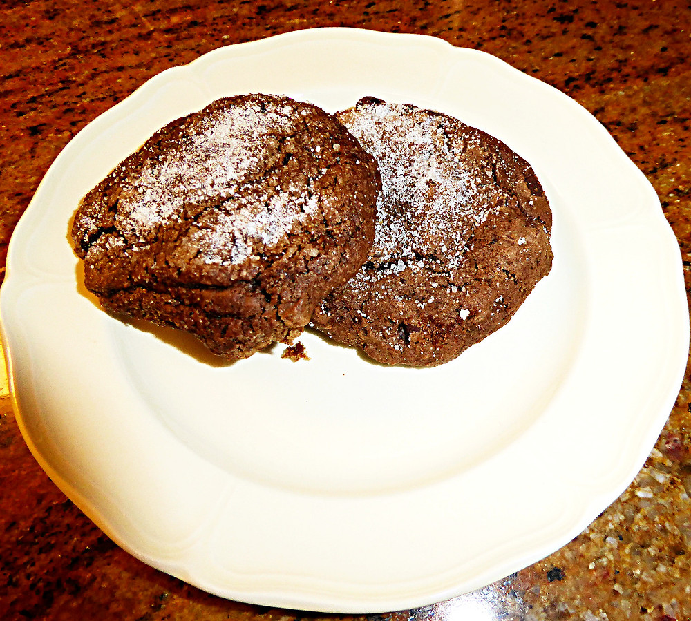 Heart Healthy Chocolate Chewy Cookies