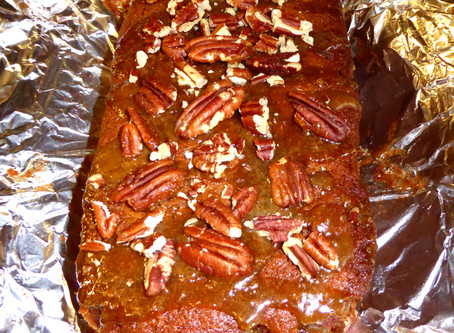 Quick, No Mix Needed Caramel-Pear Cake