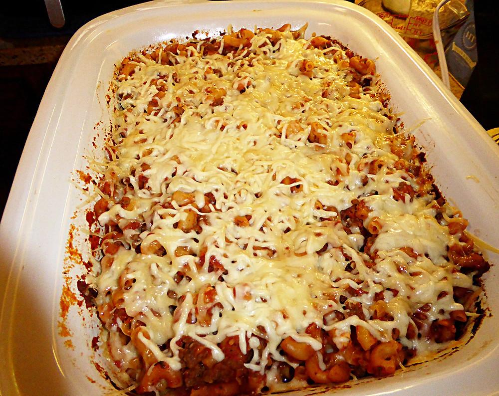 Macaroni-Beef Bake