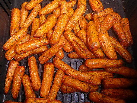 Air Fried Carrots with Thyme