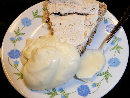 What to Do With Leftover Egg Whites?  Make an Angel Pie