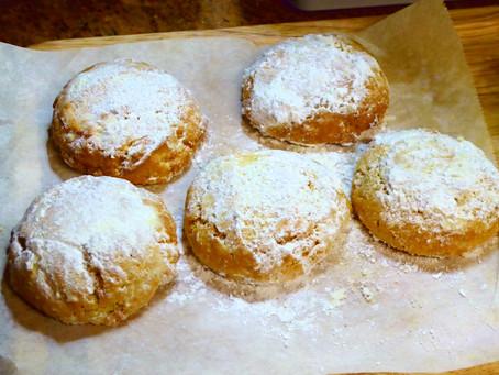 Cornmeal-Lime Cookies:  Air Fryer Tea Time Treats