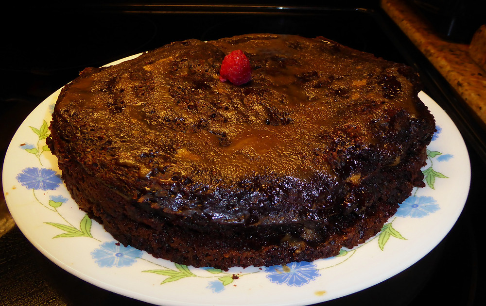 """Steamed Chocolate """"Pudding"""" Cake Better Than Flourless Chocolate Cake"""