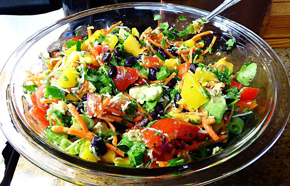 Mango Fiesta Salad
