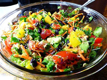 Easy Cool Dinner or Side:  Mango Fiesta Salad
