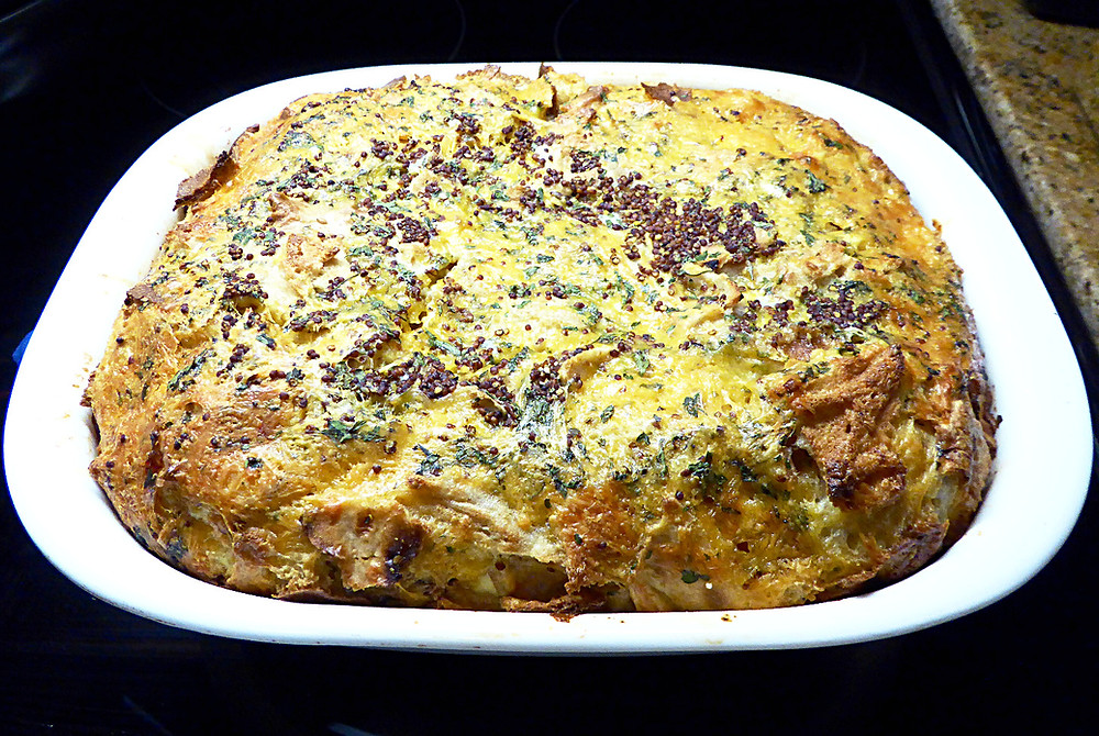 Simple Breakfast Strata