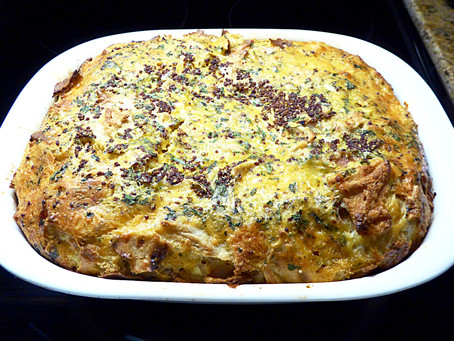Waste Not, Want Not -- Breakfast Strata