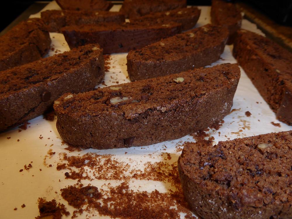 Chocolate-Pecan Biscotti