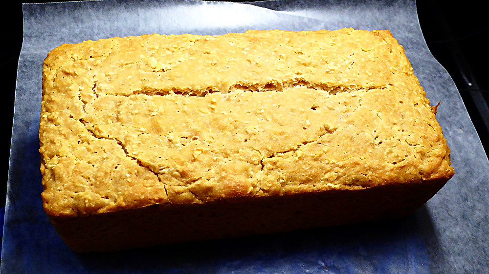 Sourdough Honey-Oat Batter Bread