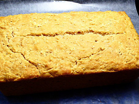 Sourdough Honey-Oat Batter Bread:  No Kneading Required