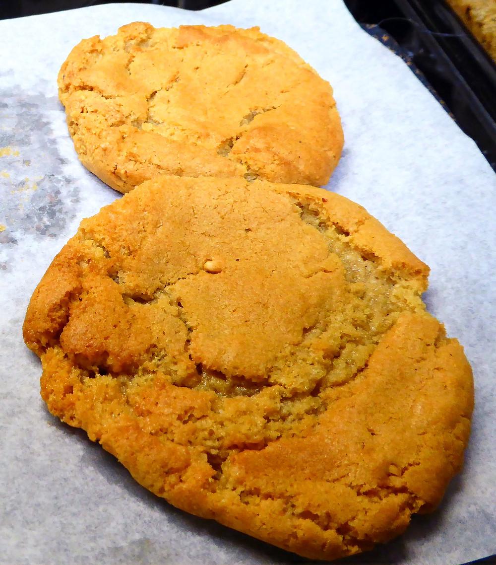 Quick Friday Dessert:  Small Batch Air Fryer Peanut Butter Cookies