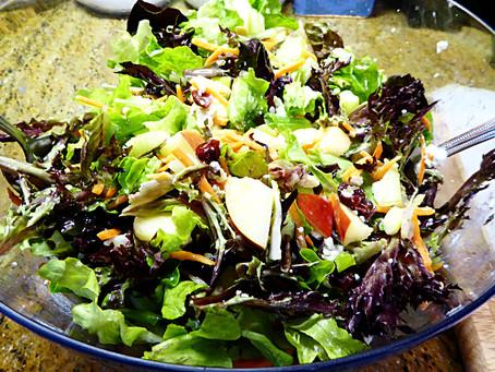 Have Extra Apples?  Make Lemony Apple-Blue Cheese Salad