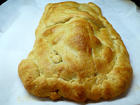 Quick and Easy Supper:  Giant Baked Beef Empanada