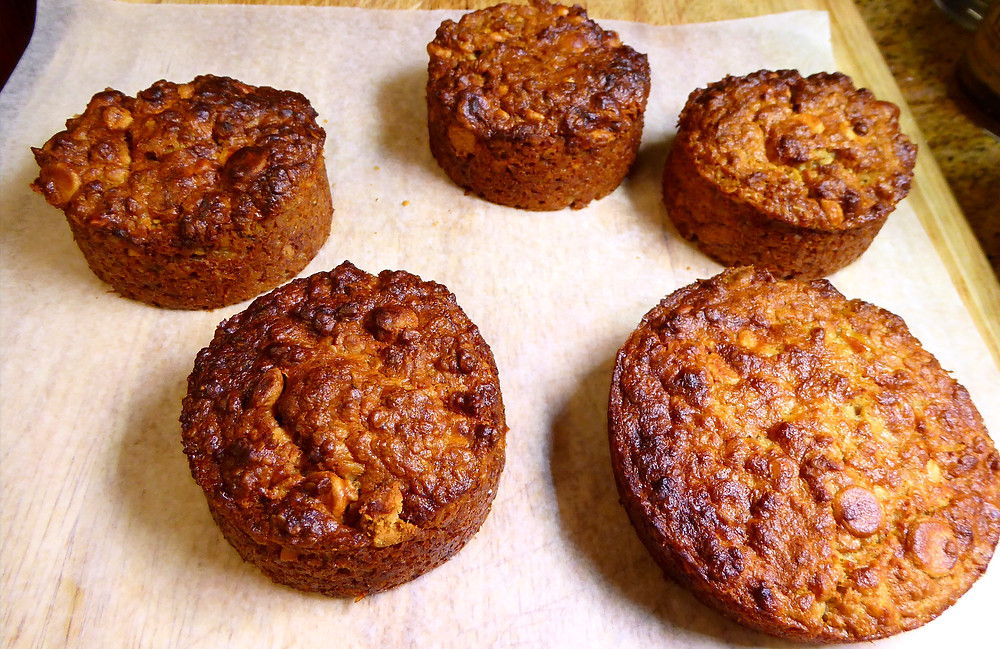 For a Better Breakfast Make No Wheat Flour Peanut Butter and Banana Oat Cakes or Muffins in Your Air Fryer
