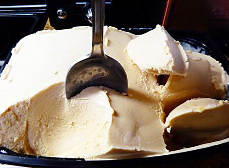 Light Summer Dessert:  Peach Buttermilk Sherbet