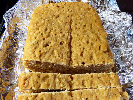 Simpler Sourdough:  No Knead Honey-Oat Bread