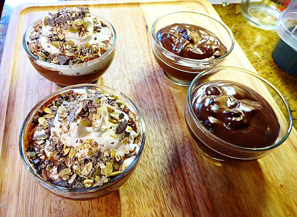 Real, Healthy Homemade Chocolate Pudding