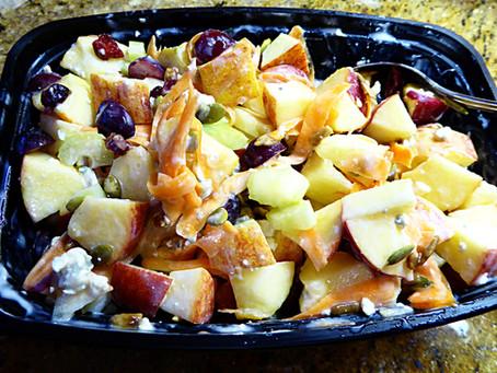 Don't Eat Romaine Lettuce:  Try Apple Salad Instead