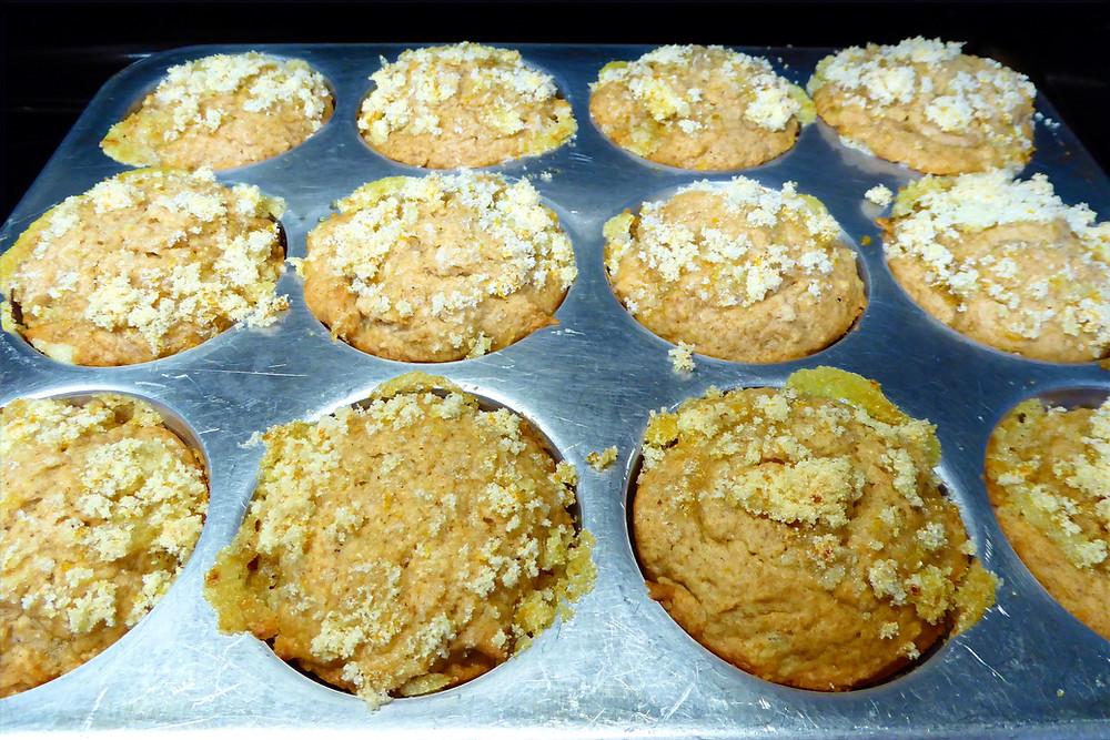 Sourdough Discard Orange-Ginger Muffins