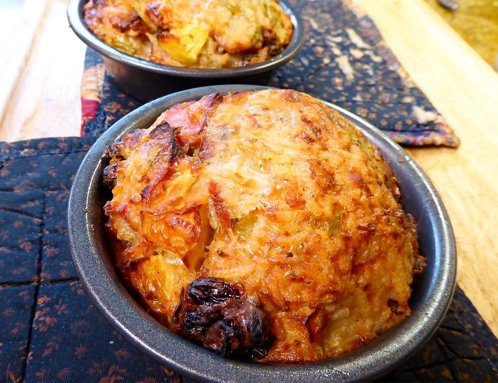 What to Make With Leftover Ham and Rice:  Air Fryer Timbales