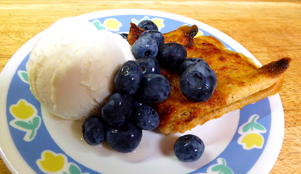 Use Your Sourdough Discard in Crepes Suzette With Blueberries and Brown the Crepes in Your Air Fryer
