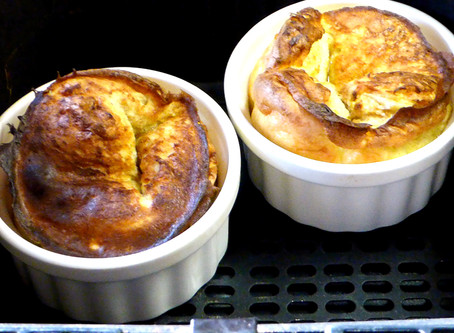 Air Fryer Breakfast:  Baby Dutch Babies