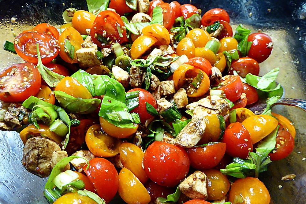 Mixed Up Caprese Salad