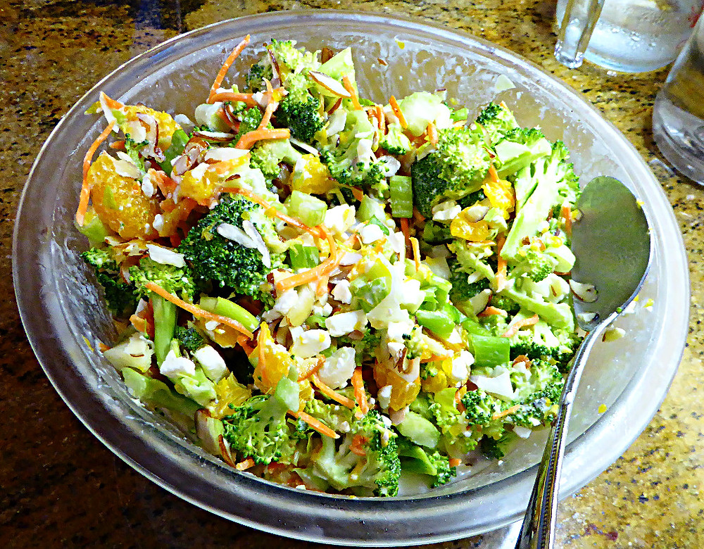 Light Broccoli-Orange Salad