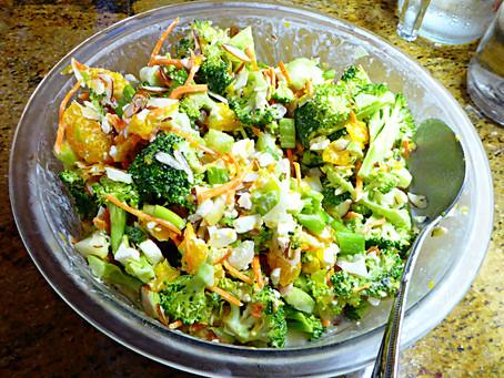 Better For You Broccoli-Orange Salad