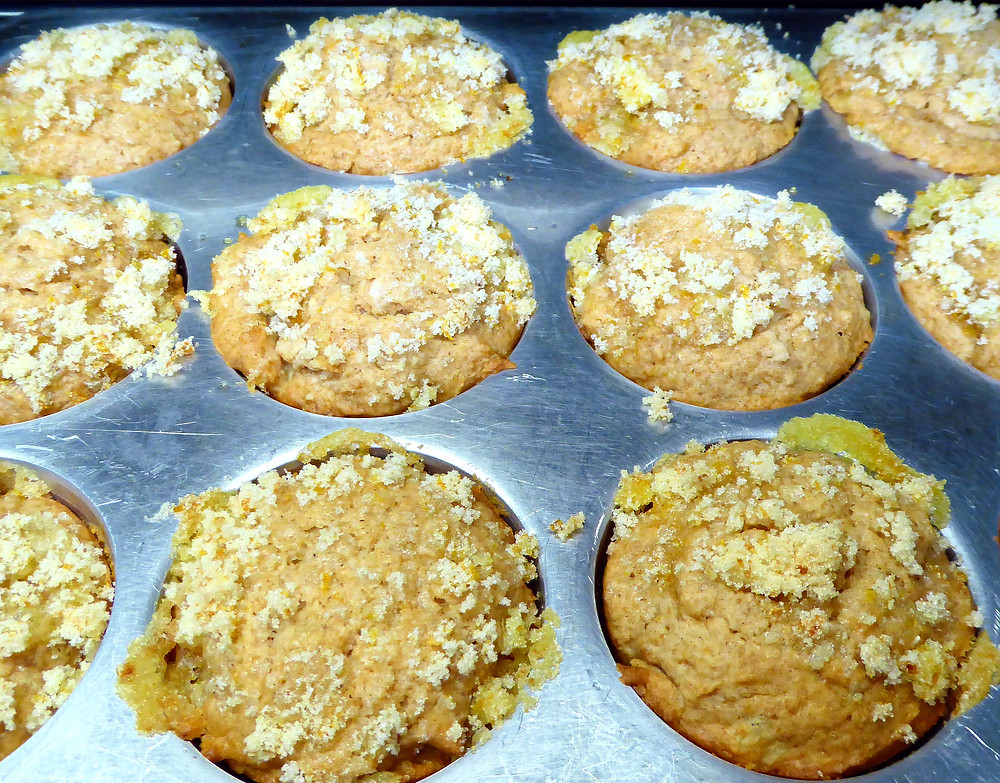 Easy Sourdough Discard Orange-Ginger Muffins