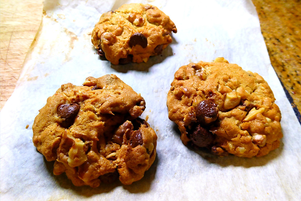 Easy Simple Air Fryer Chocolate Chip Cookies No Weird Ingredients