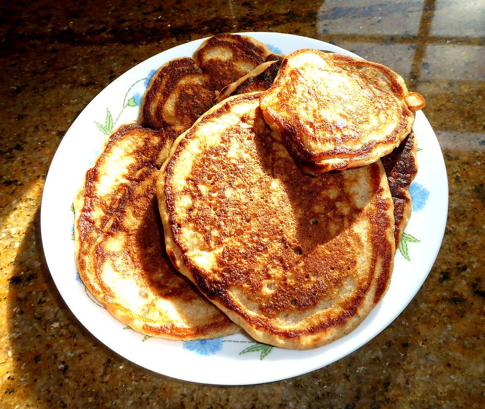 "Shrove, ""Fat"" Tuesday Sourdough Pancakes"