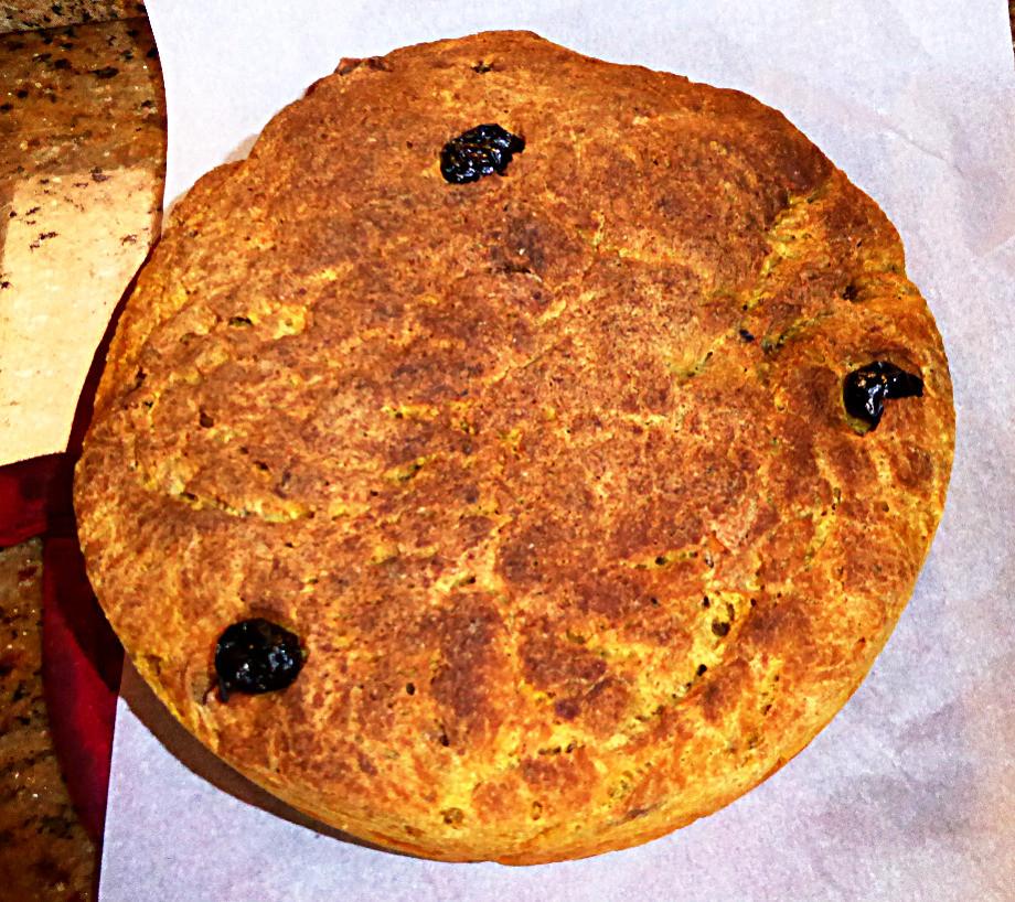 No Baking Powder Sourdough Pumpkin Bread