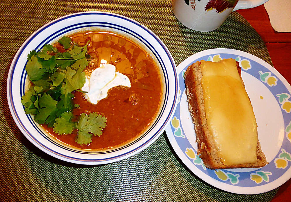 Red Lentil Soup Supper