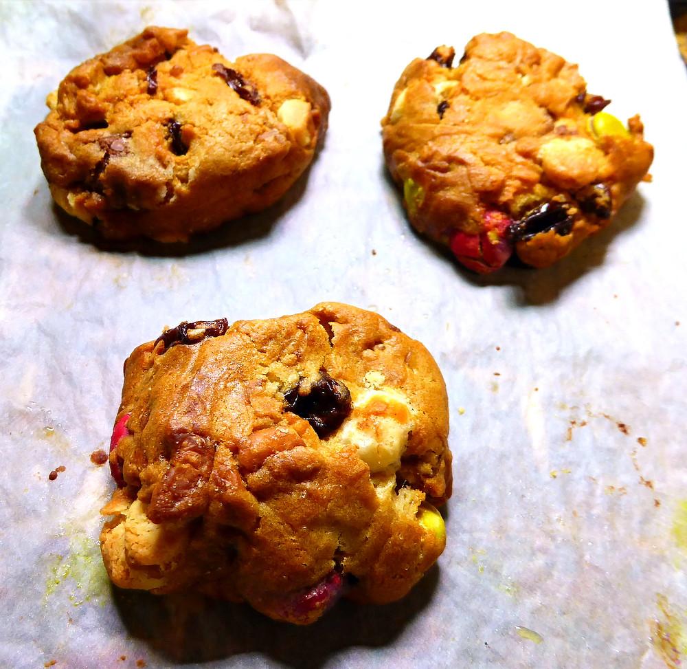 Air Fryer Trail Mix Kitchen Sink 10 Minute Cookies