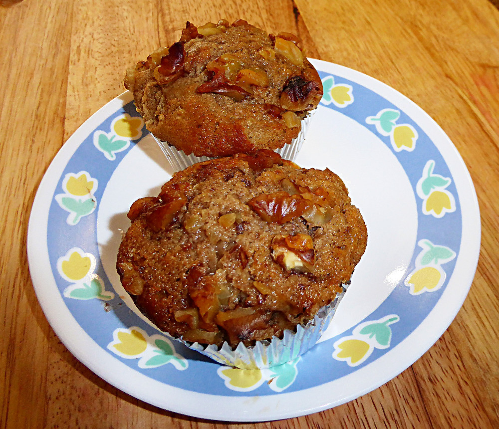 Low-Fat Spiced Pear Muffins