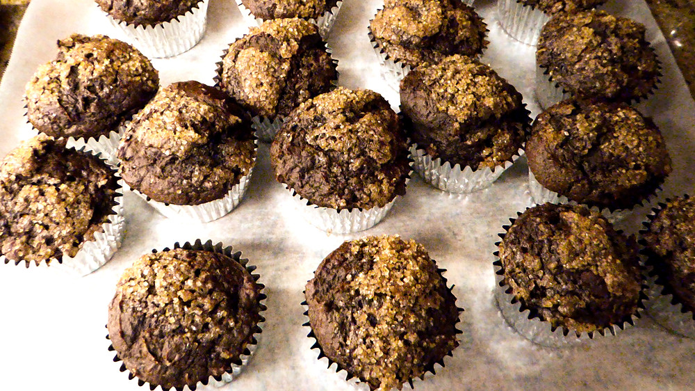 Quicky Low-Fat Chocolate Muffins