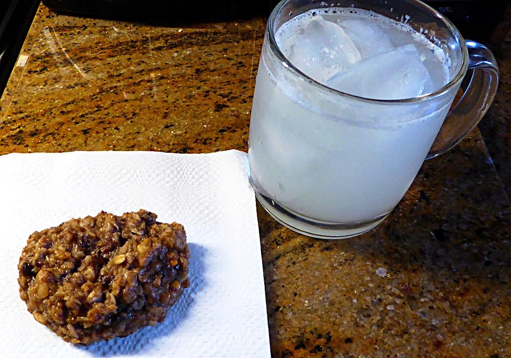 No Wheat Flour, Low Sugar Banana Oat Cakes