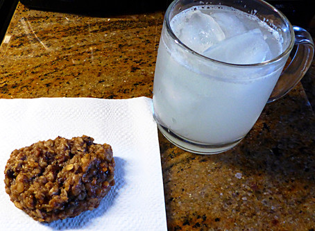No Wheat Flour, Low Sugar Banana Oat Cakes