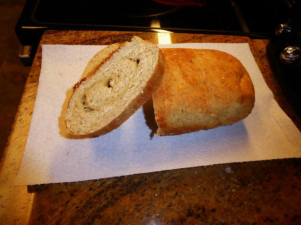 sesame swiss yeast bread