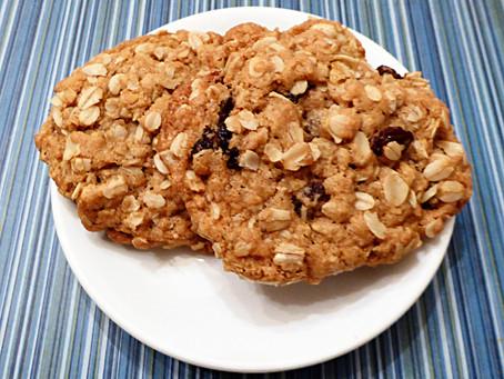 Baking Week:  Chewy-Crunchy Oatmeal Cookies