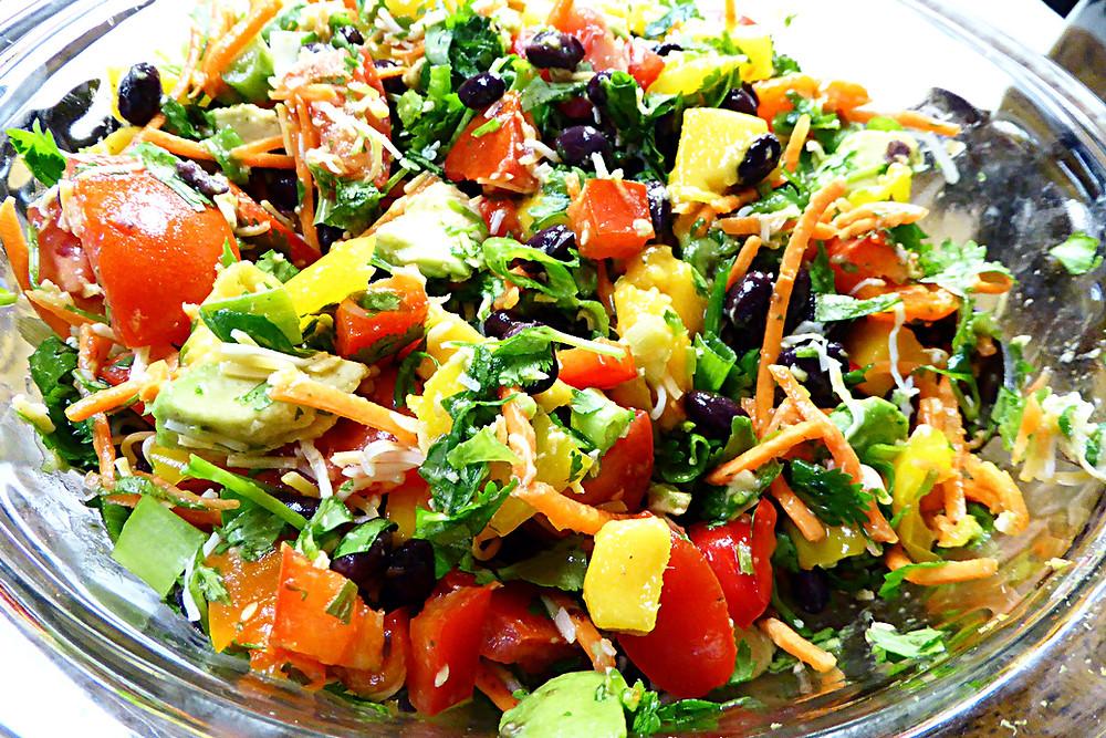 Main Dish Mango Fiesta Salad