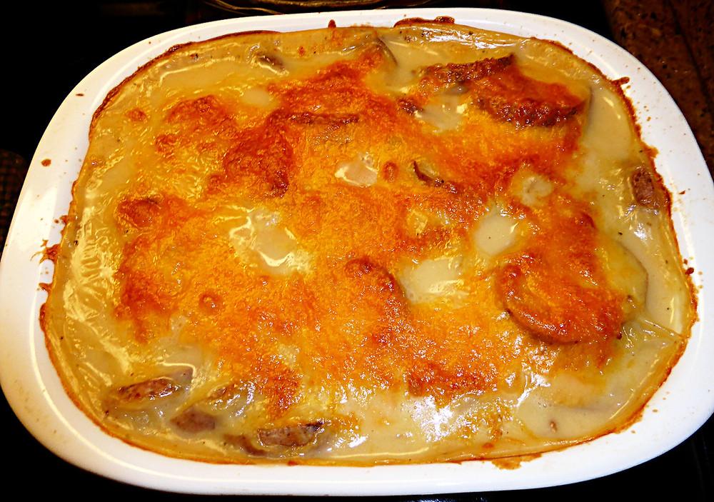 Homemade Scalloped Potatoes