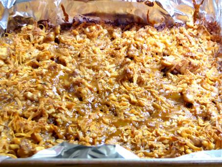 Quick Thanksgiving Worthy Dessert:  Caramel Dream Bars